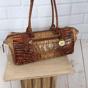 Vintage Brahmin Paris Toasted Almond Bag